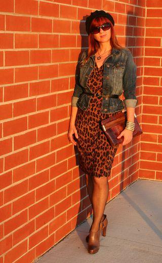 H&M jean jacket & dress