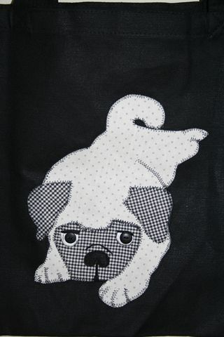 Pug applique