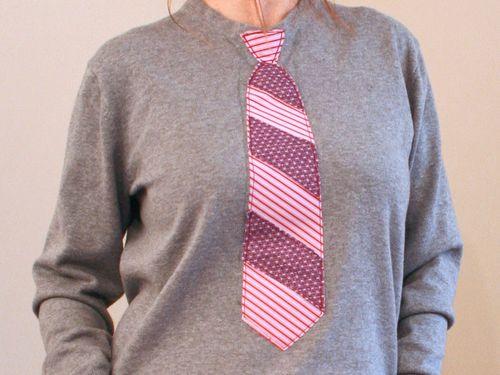 DIY tie