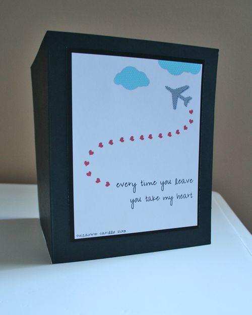 You take my heart valentine card