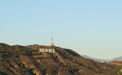 Hollywood sign sunset small