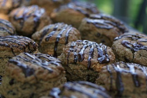Espresso chocolate banana scones recipe