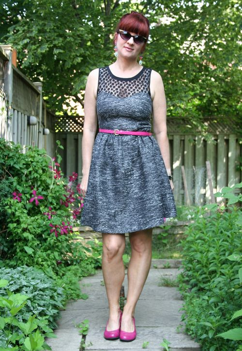 Black and grey dorothy perkins dress