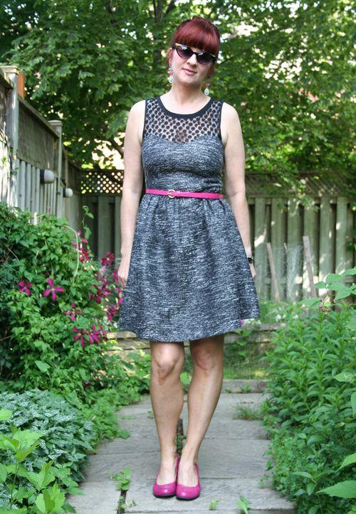 Black and grey dorothy perkins dress