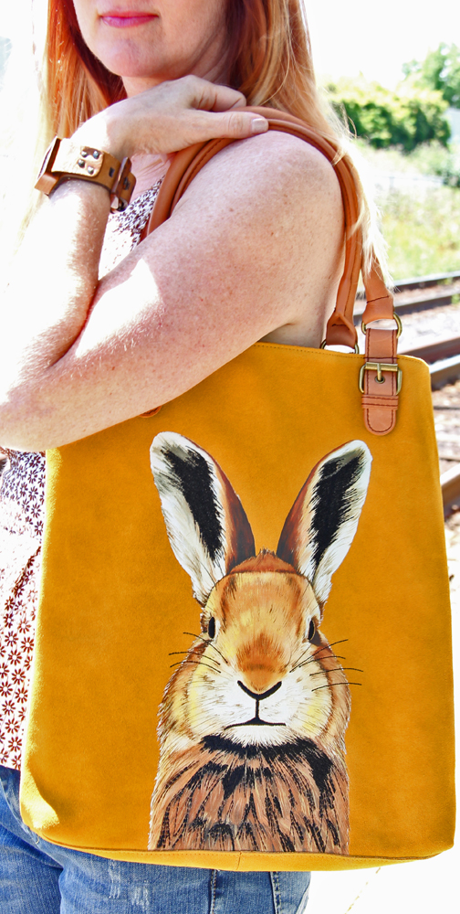 Bunny bag by anthropologie