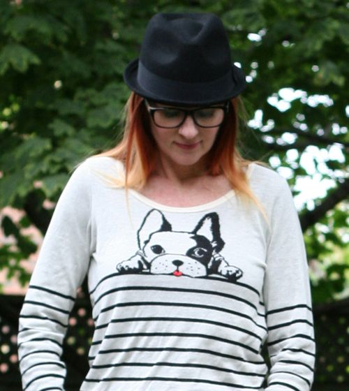 Anthro dog sweater