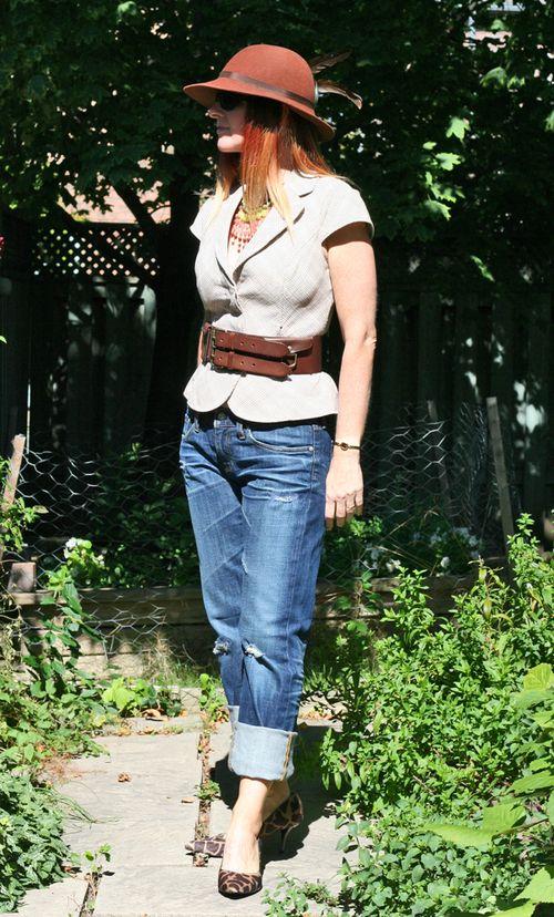 Guess vest ag jeans