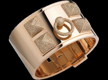 Hermes diamond cuff
