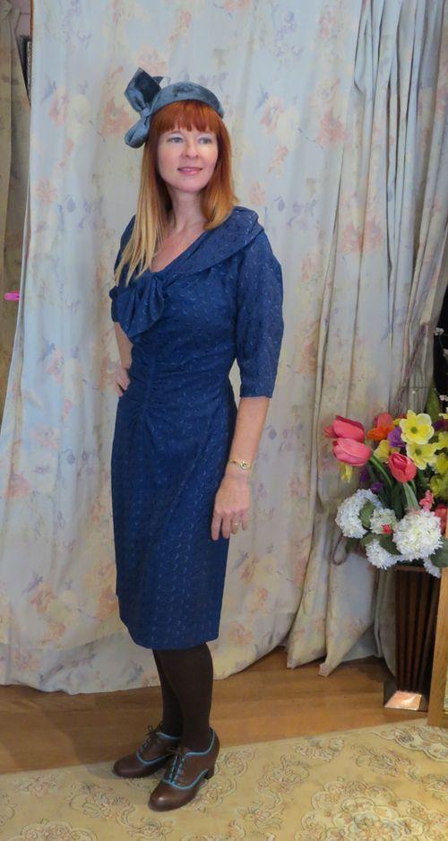 Blue wiggle dress sweet trash