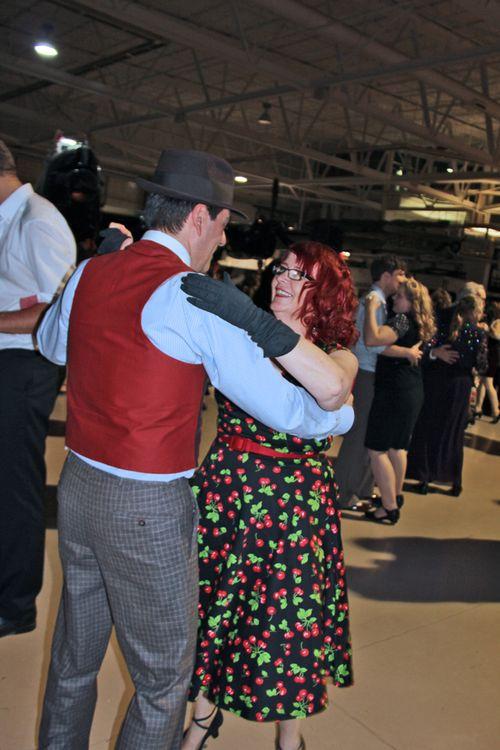 Robert and hazel dancing
