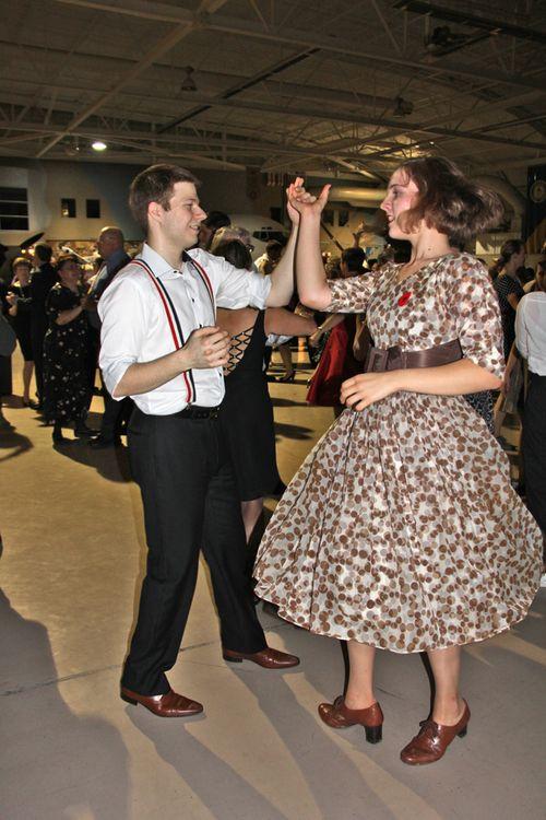 Vintage dress lindy hop