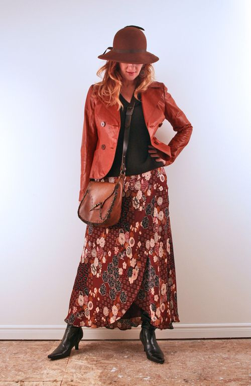 Top five long skirt