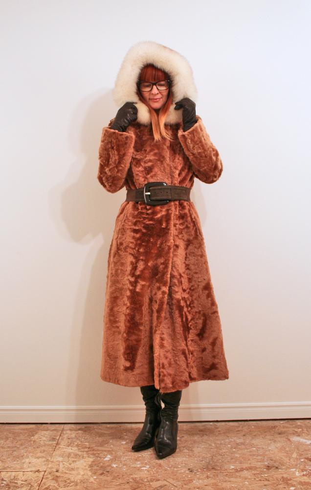 Vintage coat estate sale find
