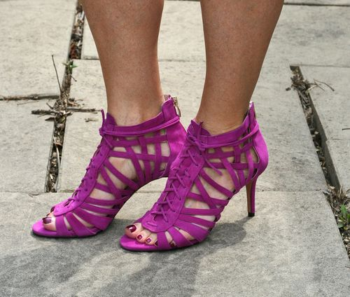 Vince camuto radiant orchid sandal booties