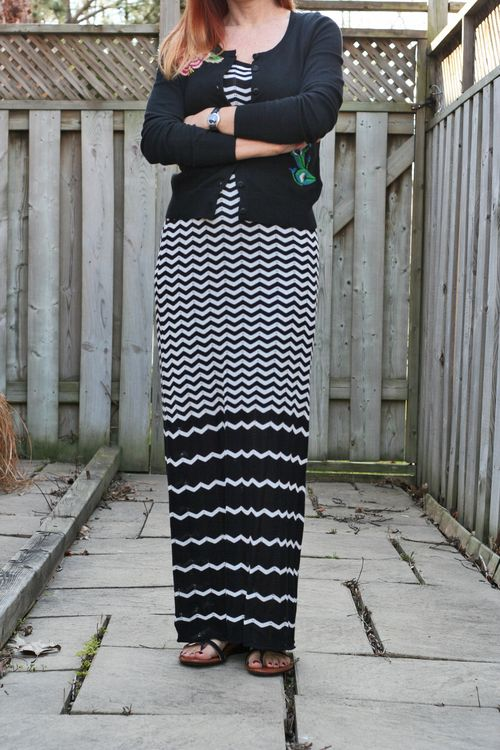 How to wear a style a maxi dress