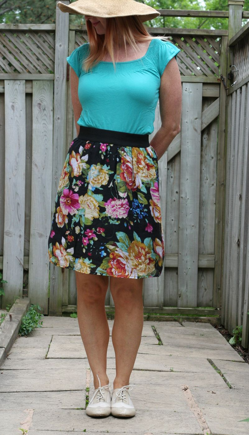 Beautiful floral skirt for summer how to dress for summer when you are over 40 suzanne carillo style files