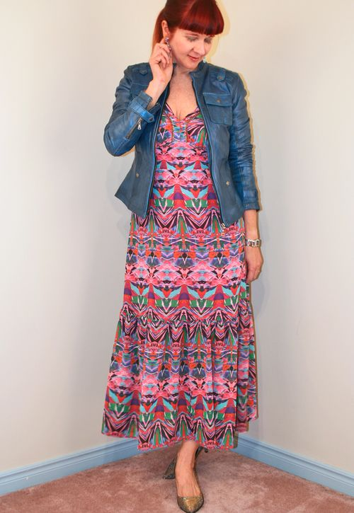 What to wear on a fat day midi maxi dress anthropologie suzanne carillo style files