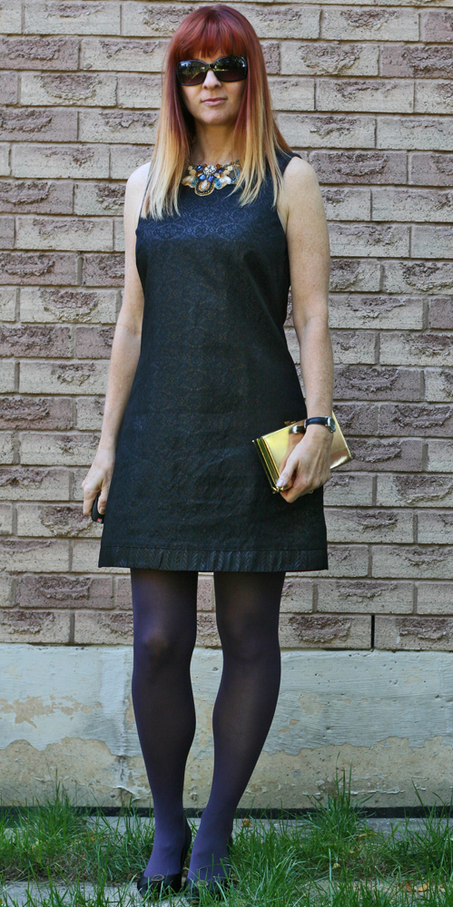Black aline dress consignment store