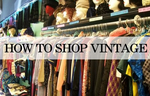 How to shop vintage