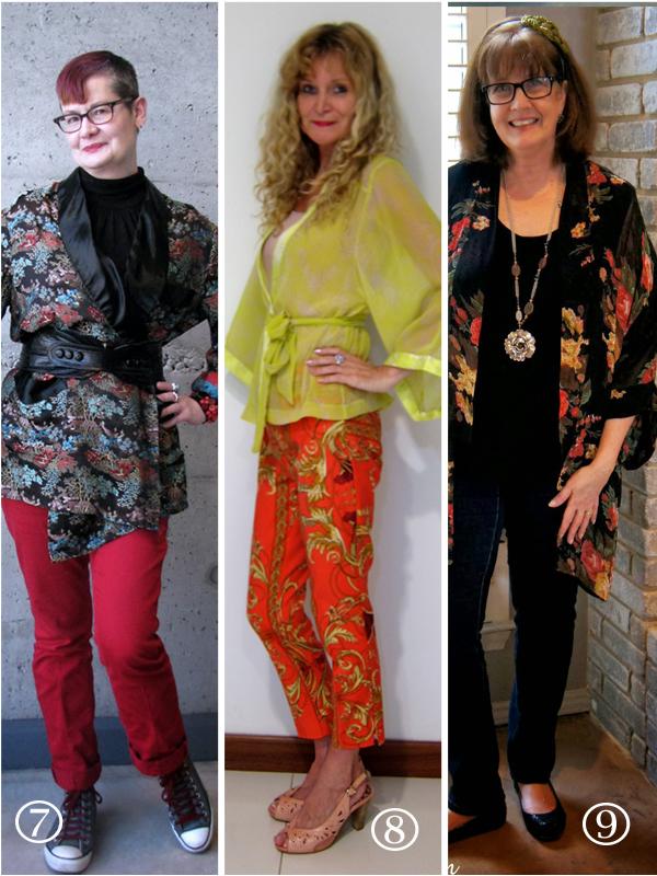 Kimonos  how to style a kimono over 40