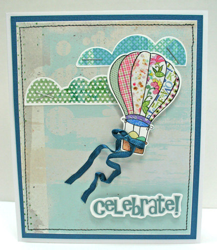 Celebrate easter handmade card idea