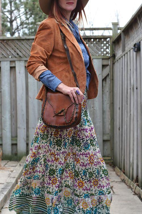 Bohemian style women over 40