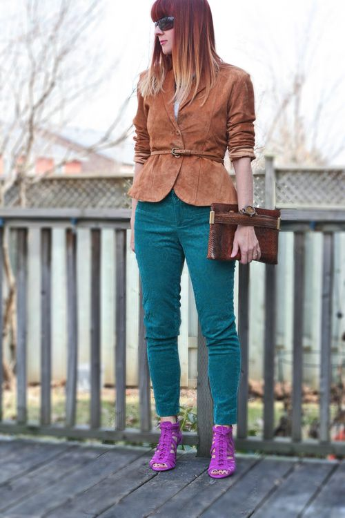 How to combine colours when dressing colour blocking
