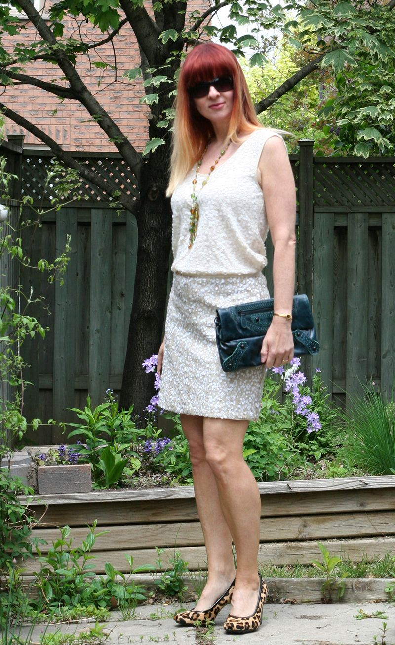 Banana republic sequin skirt suzanne carillo style files