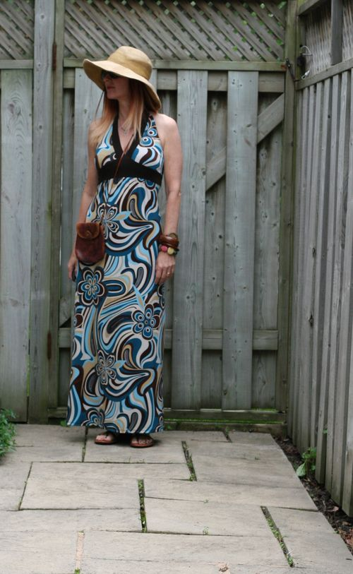 How to wear a maxi dress suzanne carillo maxi halter dress for summer boho style for women over 40