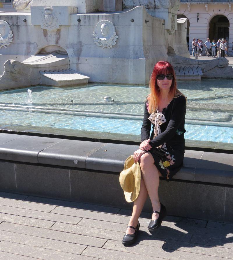 Fountain nice france