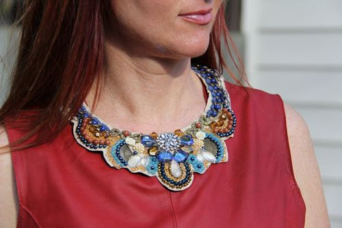 What to wear when you feel bloated statement jewelry suzanne carillo style files