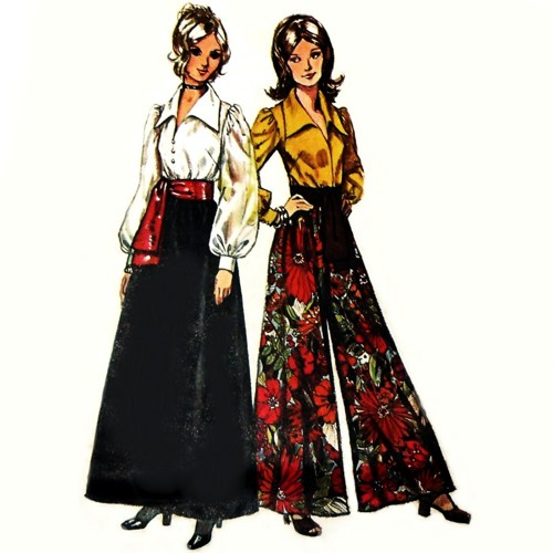 Maxi_skirt_palazzo_pants_1970s_pattern_blouse_w_bishop_sleeves_retro_c0eaaffa