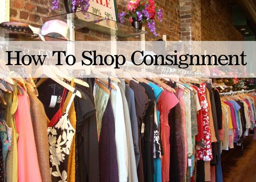 How to shop consignment stores