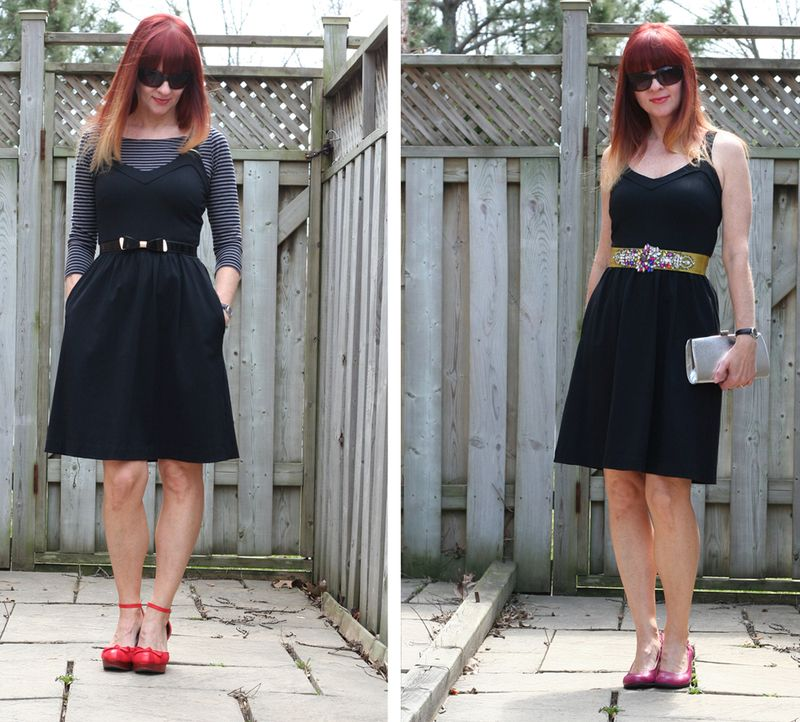 How to style a little black dress simply