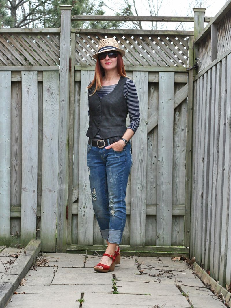 Casual summer style for vacation