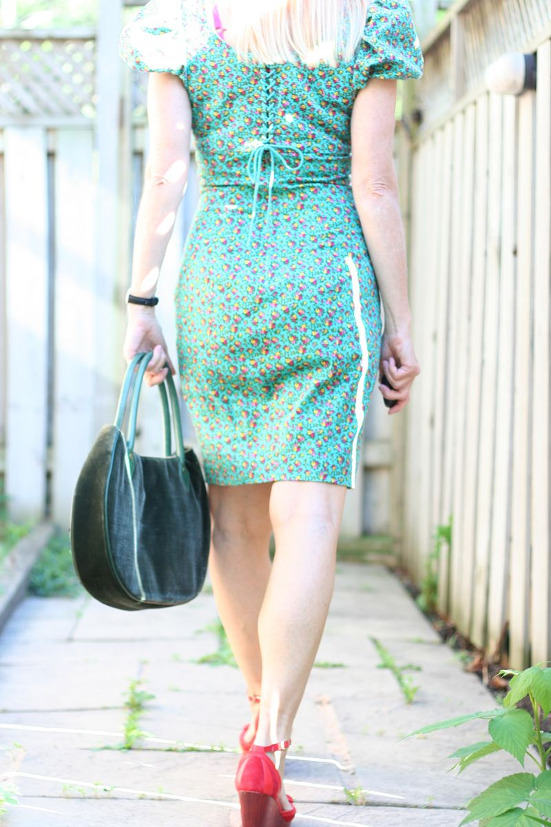 Back of betsy johnson lace up dress suzanne carillo style files