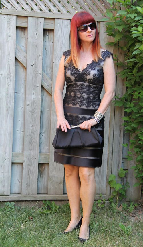 Black lace dress what to wear when you feel fat suzanne carillo style files