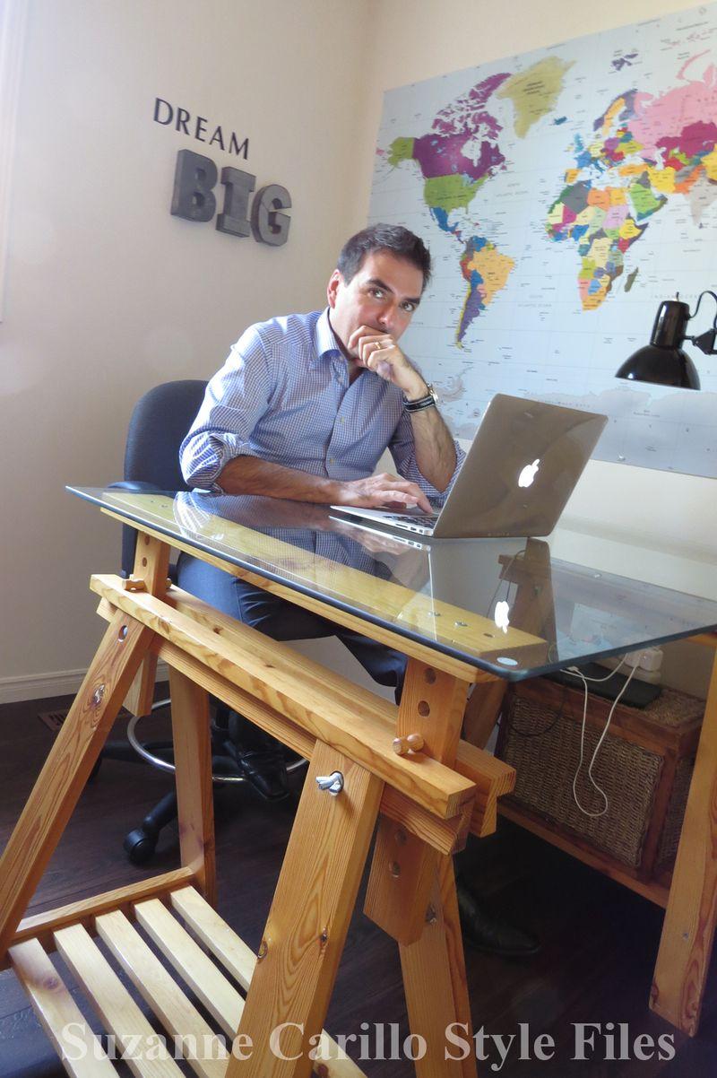 Robert carillo home office suzanne carillo style files