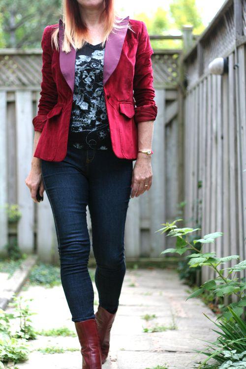 Red velvet altuzzara jacket suzanne carillo style files