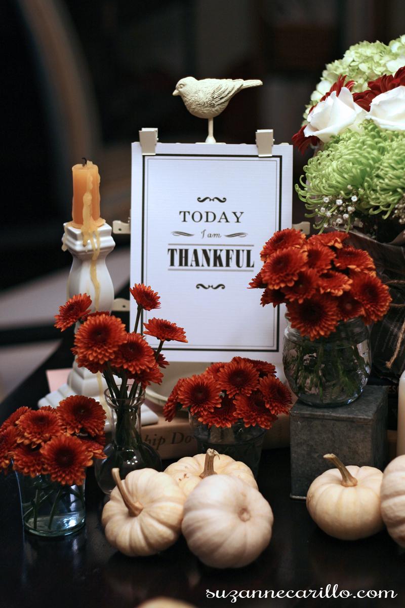 Thanksgiving free printable suzanne carillo