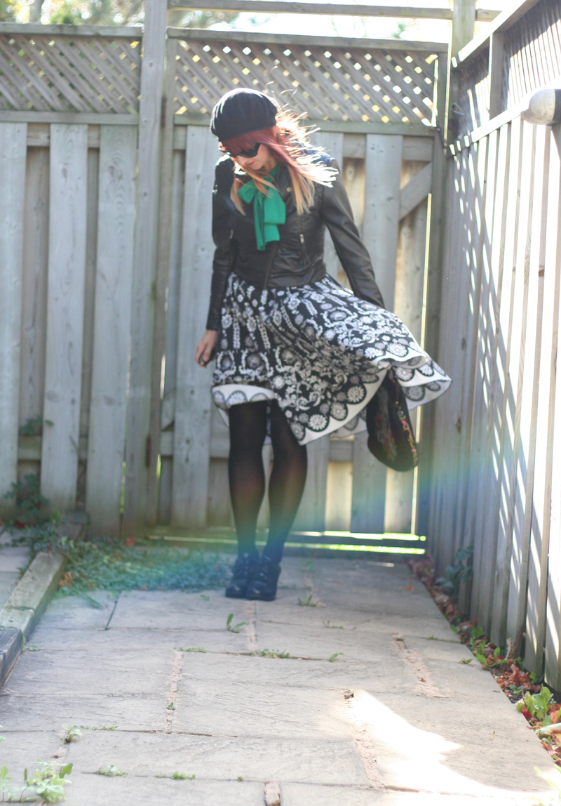 How not to take a fashion blogger photo