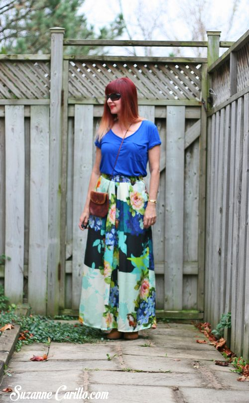 Anthropologie bold printed maxi skirt how to wear a maxi skirt suzanne carillo