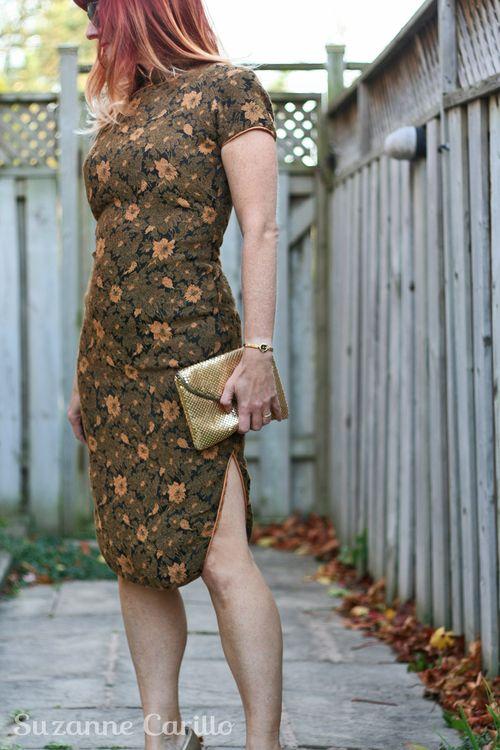 Vintage cheongsam vintage asian dress suzanne carillo