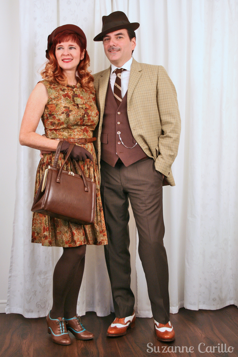 How to dress 1940's vintage style for women and men