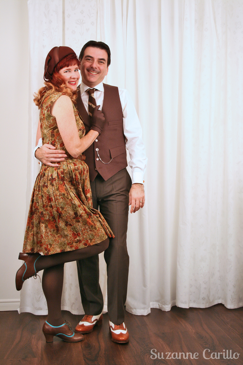 How to dress 1940's style as a couple vintage style for couples suzanne carillo
