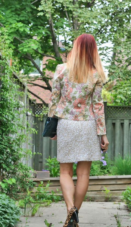 How to wear a floral blazer suzanne carillo style files