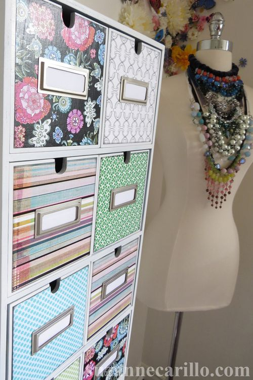 DIY home office storage solution from Ikea suzanne carillo