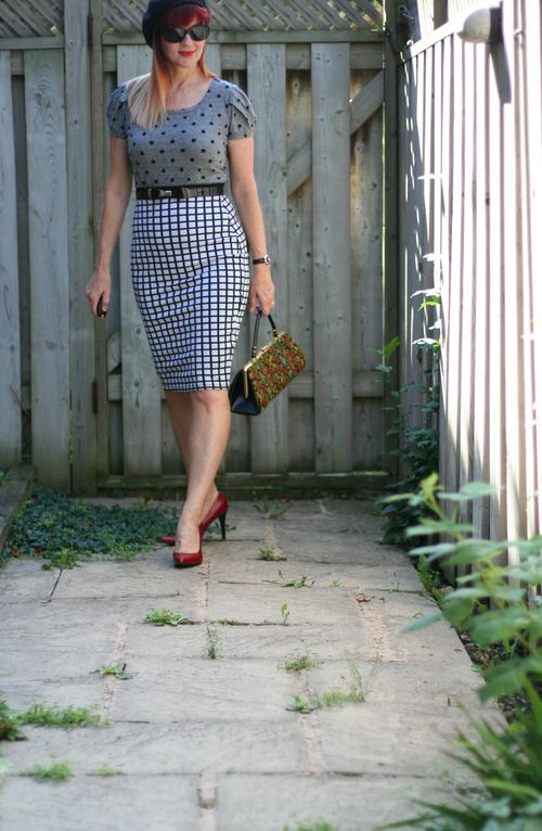 How to wear polkadots over 40 suzanne carillo style files