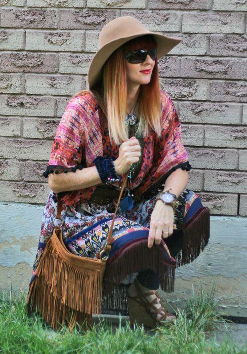 How to wear a fringe purse boho style suzanne carillo style files