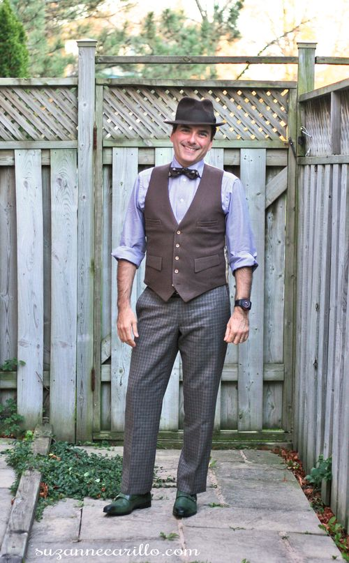 Dapper vintage men's style how to wear a bow tie